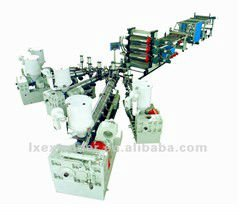 PC PMMA Sheet Extruder