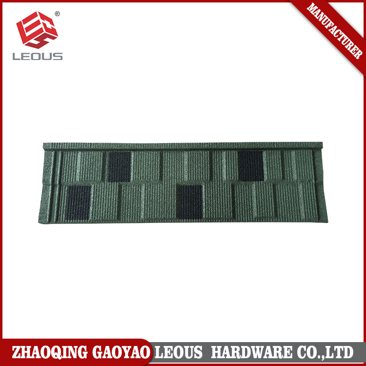 Flat Metal Type Roof Tile,Stone coated metal roof tiles,Aluminum roofing Shingles