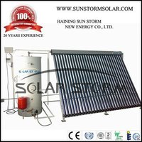 Solar Storm 250L Split Pressure Heat Pipe Solar Water Heater With Single Copper Coil