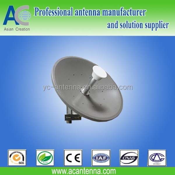5.8GHz MIMO Dish wireless antenna 50km antenna