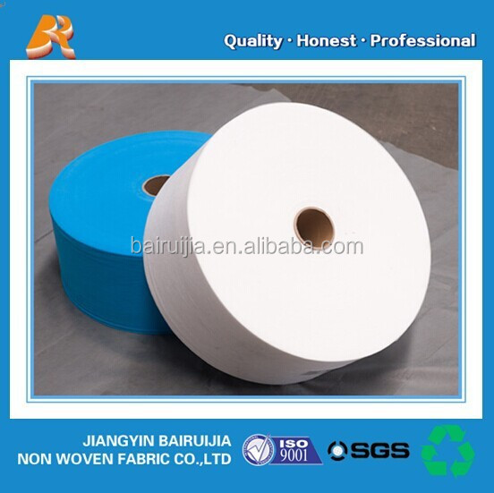 Factory supply cheap pp spunbond non-woven fabric roll for face masks