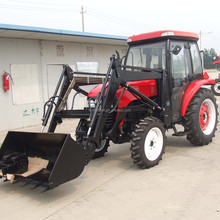 50hp 4wd jinma farm tractor machine with front end loader
