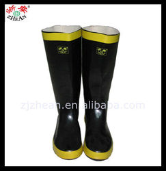 Firefighter Rubber Boots/Safety Boots For Man