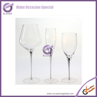 #17430 Hot sales cheap wine glasses wholesale glasses