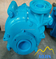 electric motor driven metal lined slurri pump for high solids application