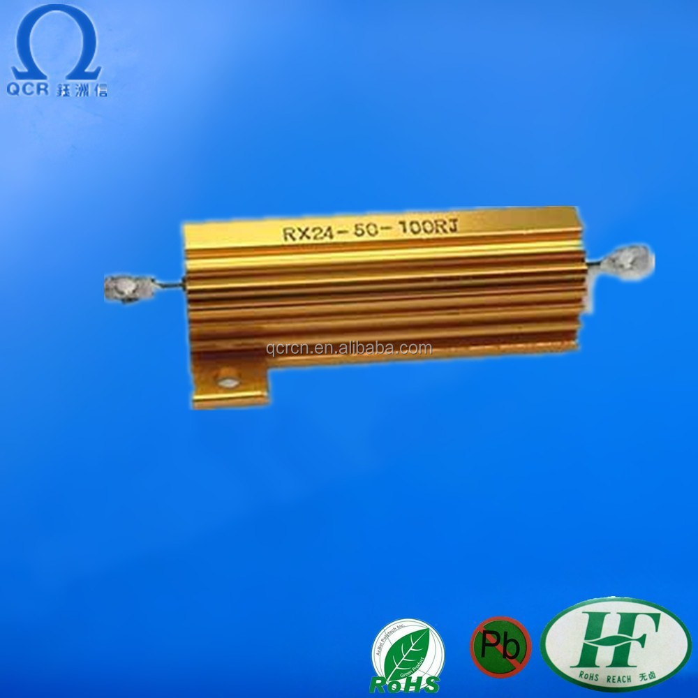 Aluminum Housed high wattage resistor Wirewound Resistor 30W 300ohm