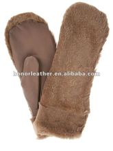 Fashion sheep fur women gloves mitten