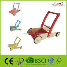 Wooden Baby Walker as Toy for Children Walking Learning