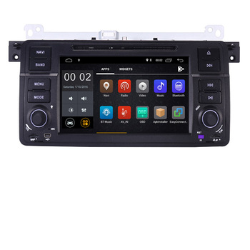 Factory price 2 Din Android 9.0 Car DVD GPS Navi for BMW E46 M3 Wifi 3G Bluetooth Radio RDS USB SD Steering wheel Control Map