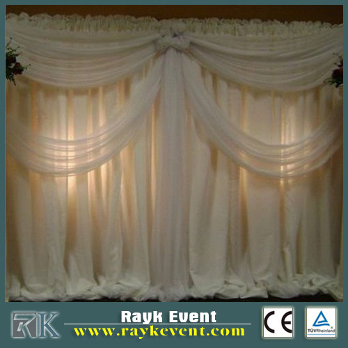Wedding backdrop decor pipe and drape for sale | kiosk photo booth