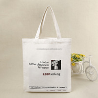 custom print promotional bulk 100% cotton canvas tote bag wholesale