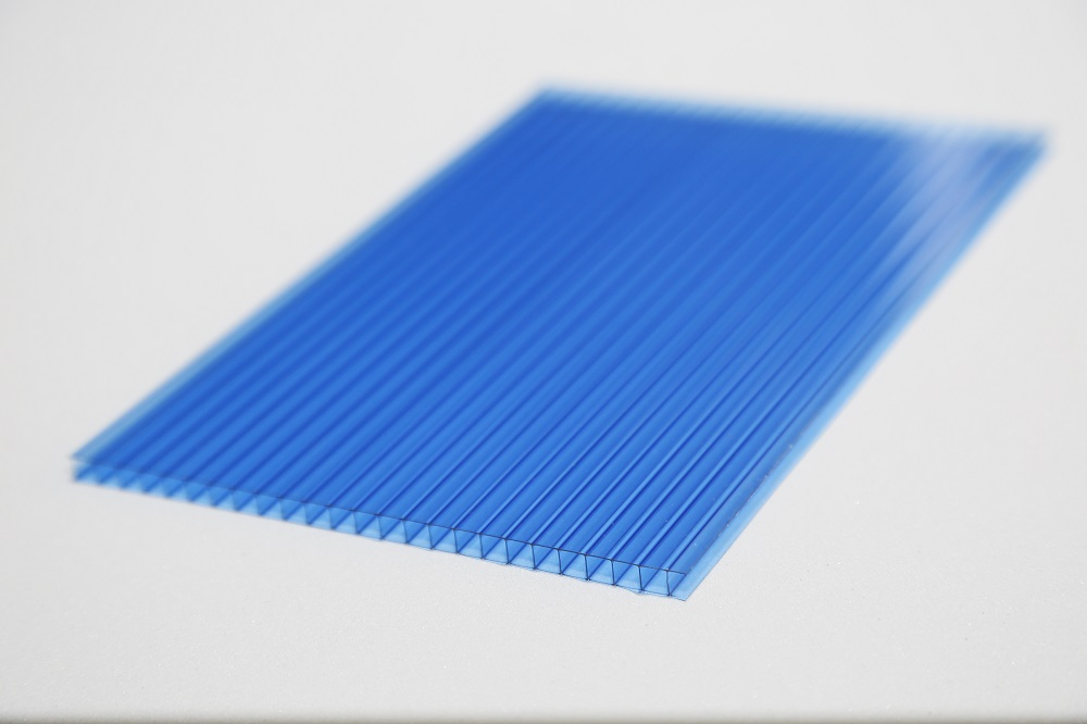 XINHAI New ! invernaderos policarbonato twin wall polycarbonate sheets 4mm 5.5mm 6mm 8mm 10mm PC16 pc hollow