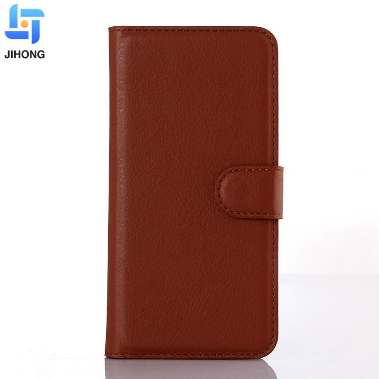 Hot Sale Mobile Phone Accessories Flip Leather Wallet Case With Card Slot Cover for iPhone 6 Plus Case