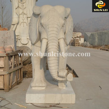 Elephant Carving Stone Statues