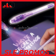 Cheaper multifunctional Secret ballpen with UV LED light