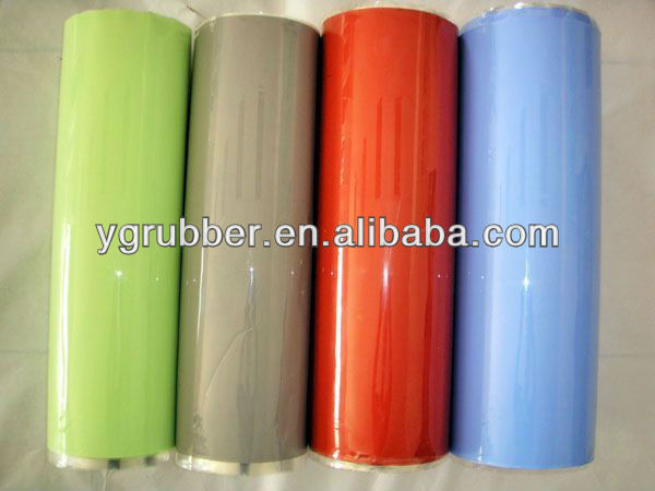 Silicone vacuum membrane for press machine