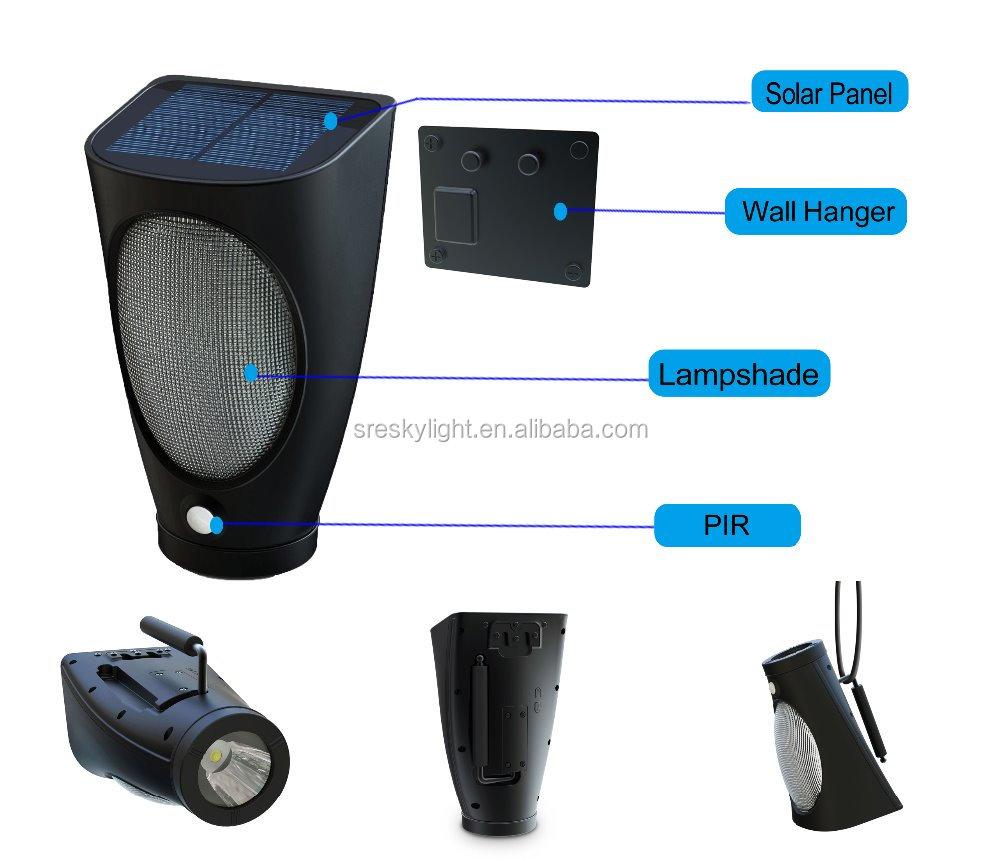 ip65 233 tanche torche lumi 232 re portable led solaire le de poche torche eclairage jardin id de