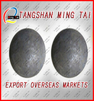 high quality forging 60mm grinding steel mill ball exported to Iran