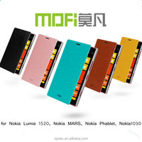 MOFi Wholesale PU Leather Cell Phone Flip Cover Cases for Nokia Lumia 1520, Nokia MARS, Nokia Phablet, Nokia1030