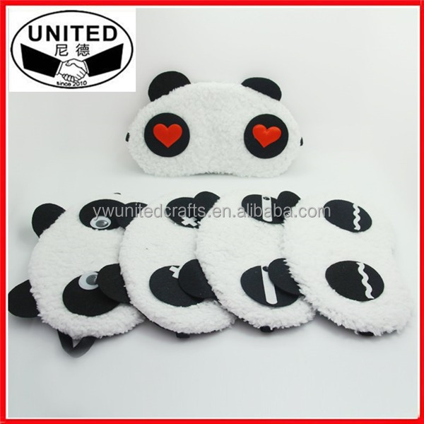 Cartoon panda ice patch/ eye mask, cold hot compress to alleviate eye fatigue