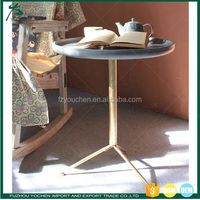 Simple Old Fashion Side Table Lamp