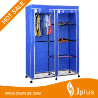 JP-WR125FABW Cheap Foldable Fabric Customize Non-wonven Wardrobe Closet