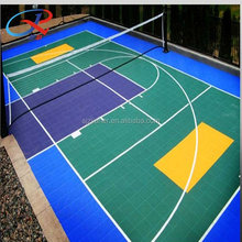 Plastic Tennis Court Flooring for Indoor and outdoor Sports Surface