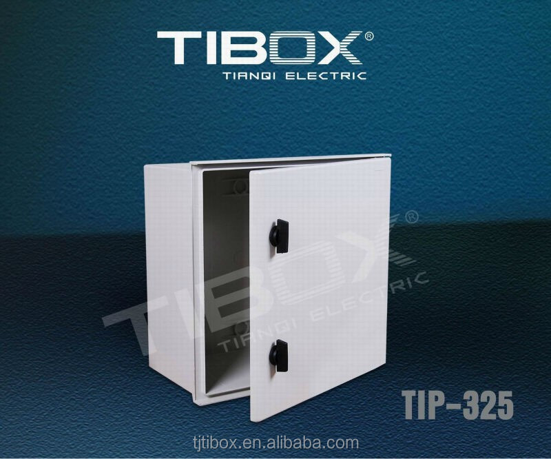 custom/oem polyester enclosure TIBOX din rail fiber glass wall mount box