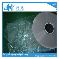 rigid plastic transparent pvc film glossy pvc super clear film sheet roll extrusion pvc for packing