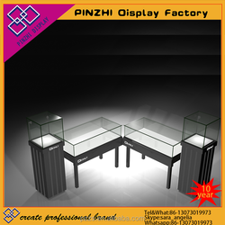 fashion kiosk showcase design jewelry furniture store with glass case