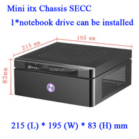 MINI ITX HTPC vertical small computer chassis exquisite HD Mini H77 motherboard small host chassis 120w min itx computer case