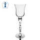 Factory Supplier High Quality Assured Slapdash Crystal Long Stem Glass Candle Holder