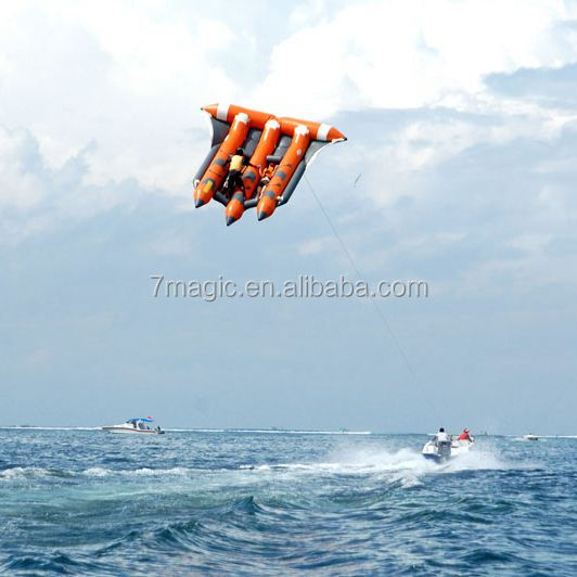 Best Quality Inflatable Flying Fish Tube Banana Boat/ Inflatable Flying Towable