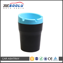 Wholesale Macaron color cup holder ashtray for car