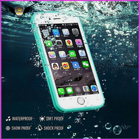2016 Best Sale Cell Phone Case Waterproof Shockproof Hybrid Rubber TPU Phone Case Cover Waterproof Case For Phone