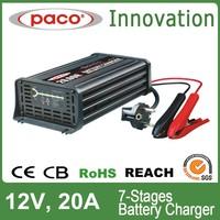 100Ah-400Ah Lead Acid Battery Charger For Car 12V 20A
