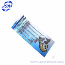 JSM Wholesale Stainless Steel wire Leader Spinner Fishing Line Rig with Rolling Swivels fishing leader line