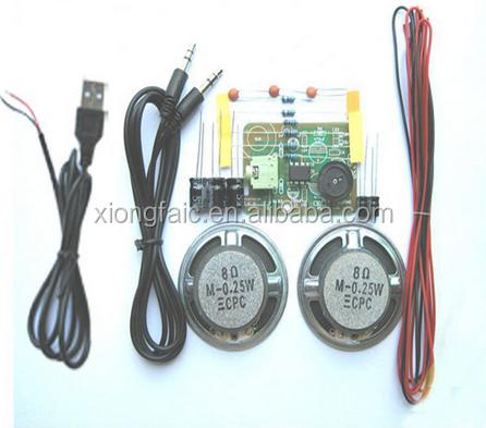 (New Original)Amplifier Kit + USB Cable Module DIY Kit