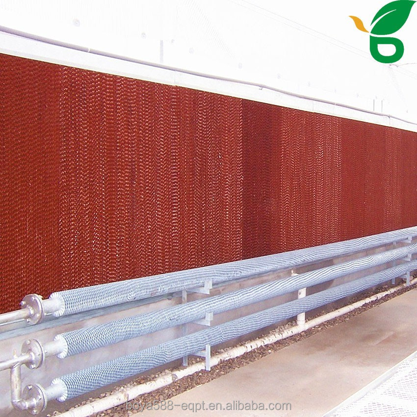 durable manufacturer design cooling pad for chicken house air cooling