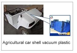 Grand épaisse formage sous vide en plastique produits, Machine ABS shell