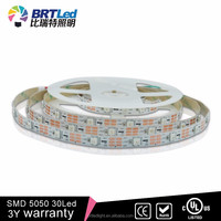 CE ROHS Approved 30LEDs/M IP20 SMD 5050 RGB Led Strip Light WS2811