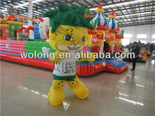 high quality inflatable cartoon, inflatable tiger