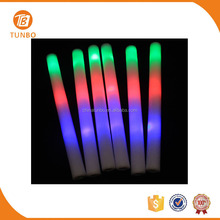 Custom logo LED light cheering glow stick live outdoor concert stage