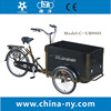 2015 new design tricycle with cargo box