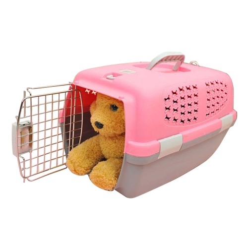 Airways train bus safety Transport pet Cage With Skylight and Vent Holes