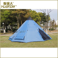 Multifunctional indian teepee tent with CE certificate