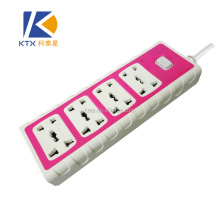 8 Outlets Color Secure Electrical Multiple Power Socket