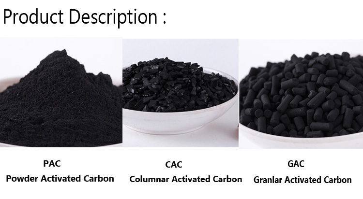 Food Grade Bulk Granular Powder Coconut Shell Activated Carbon Active