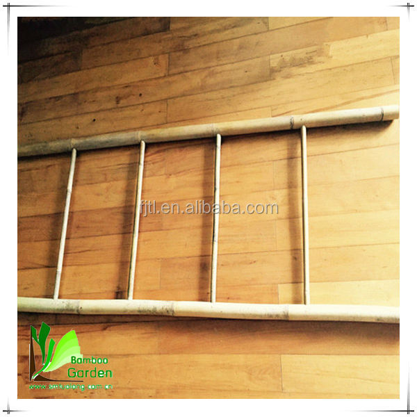 Polished Ladder Type Bamboo Towel Rail Hot Sale