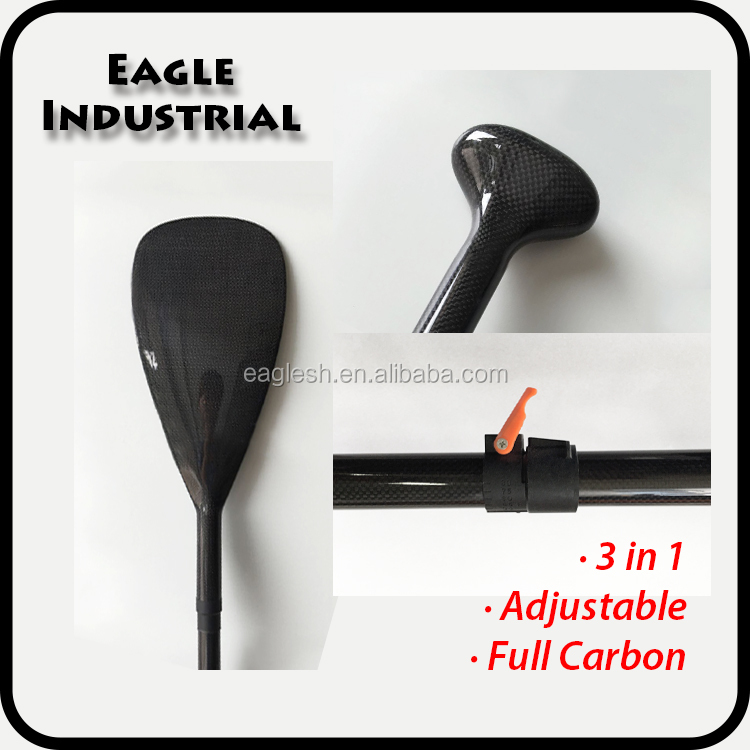 Adjustable A Full Carbon Fiber Stand UP Paddle Novelty SUP Paddle